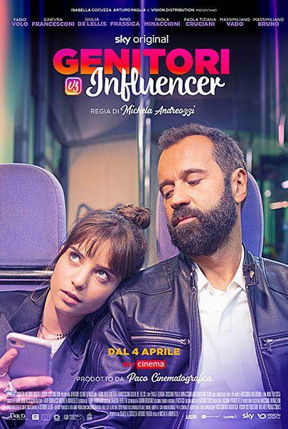 "Movie poster for ""Genitori Vs Influencer"""