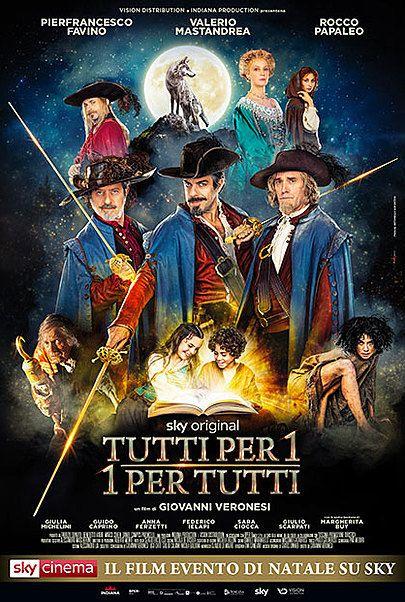 """Movie poster for """"Tutti Per 1 - 1 Per Tutti"""""""