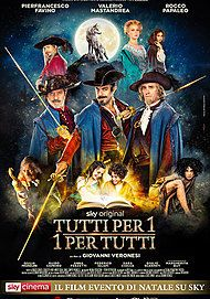"Movie poster for ""Tutti Per 1 - 1 Per Tutti"""