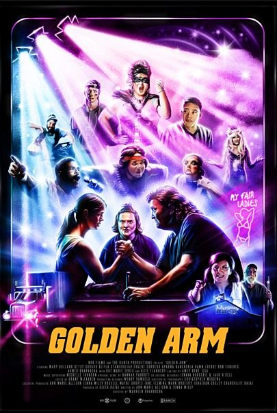 """Movie poster for """"GOLDEN ARM"""""""