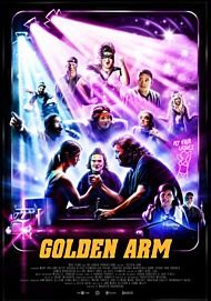 "Movie poster for ""GOLDEN ARM"""