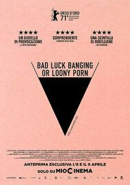 "Movie poster for ""Bad Luck Banging or Loony Porn"""