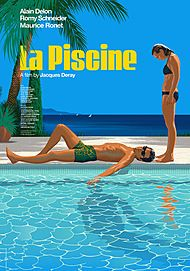 "Movie poster for ""LA PISCINE (4K RESTORATION)"""