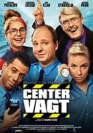 "Movie poster for ""CENTERVAGT"""
