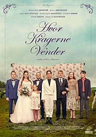 "Movie poster for ""HVOR KRAGERNE VENDER"""