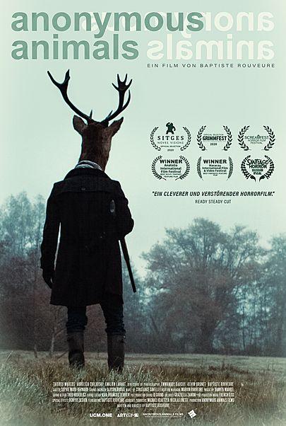 """Filmplakat für """"ANONYMOUS ANIMALS"""""""