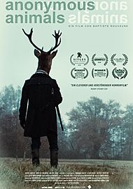 "Filmplakat für ""ANONYMOUS ANIMALS"""
