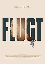"Movie poster for ""FLUGT"""