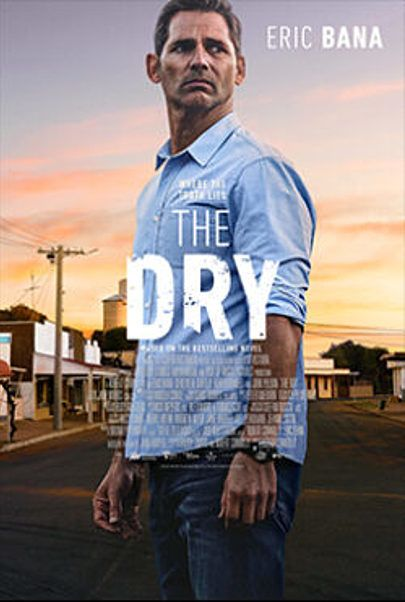 "Movie poster for ""THE DRY"""