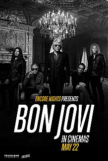 "Movie poster for ""BON JOVI FROM ENCORE NIGHTS """