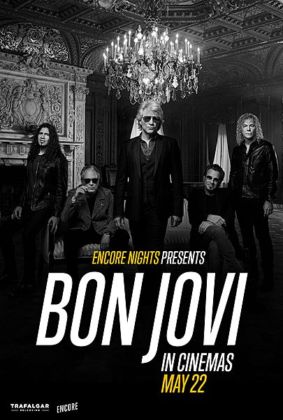 """Movie poster for """"BON JOVI FROM ENCORE NIGHTS """""""