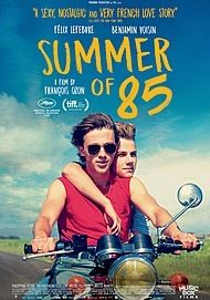 """Movie poster for """"SUMMER OF 85"""""""