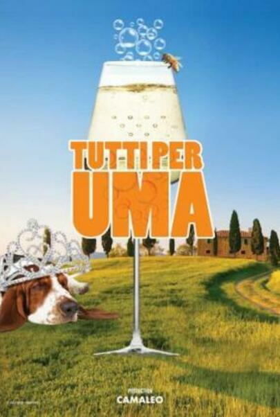 """Movie poster for """"Tutti Per Uma"""""""