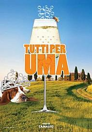 "Movie poster for ""Tutti Per Uma"""