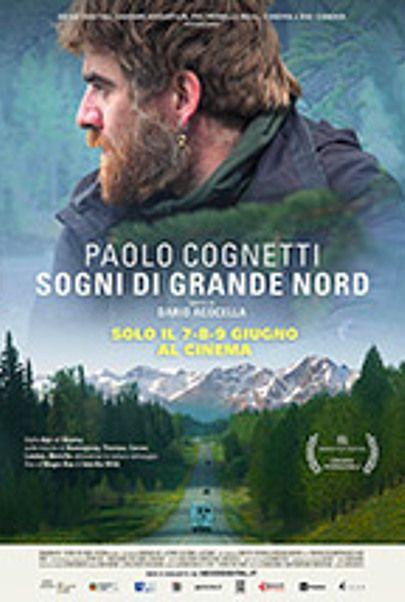 """Movie poster for """"Paolo Cognetti - Sogni di Grande Nord"""""""