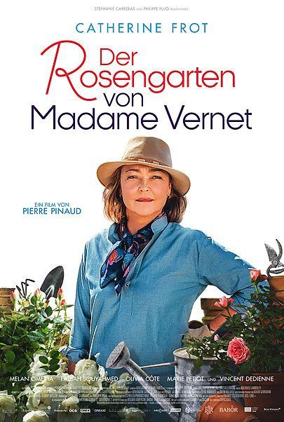 """Filmplakat für """"DER ROSENGARTEN VON MADAME VERNET"""""""