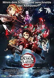 "Filmplakat für ""DEMON SLAYER - THE MOVIE: MUGEN TRAIN"""