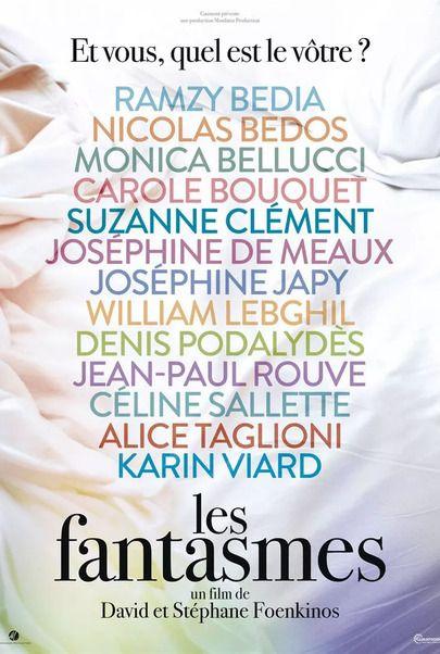 "Movie poster for ""LES FANTASMES"""
