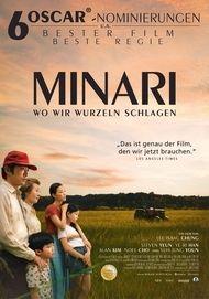"""Filmplakat für """"MINARI - WO WIR WURZELN SCHLAGEN - FILMSTART IN ÖSTERREICH"""""""