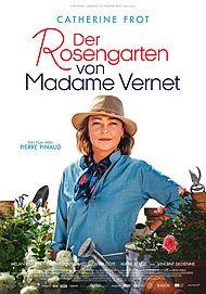 """Filmplakat für """"DER ROSENGARTEN VON MADAME VERNET - FILMSTART IN ÖSTERREICH"""""""