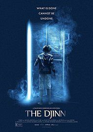 """Movie poster for """"THE DJINN"""""""