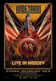 "Movie poster for ""LINDEMANN - LIVE IN MOSCOW"""