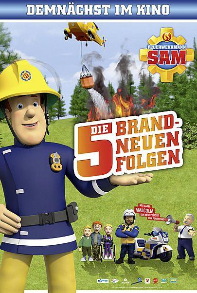"""Filmplakat für """"FEUERWEHRMANN SAM - DAS KINOSPECIAL MIT 5 BRANDNEUEN FOLGEN"""""""