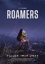 """Movie poster for """"ROAMERS"""""""