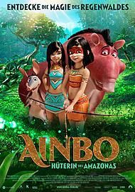 """Movie poster for """"AINBO - HÜTERIN DES AMAZONAS"""""""