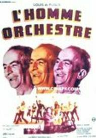 """Movie poster for """"L'HOMME ORCHESTRE"""""""