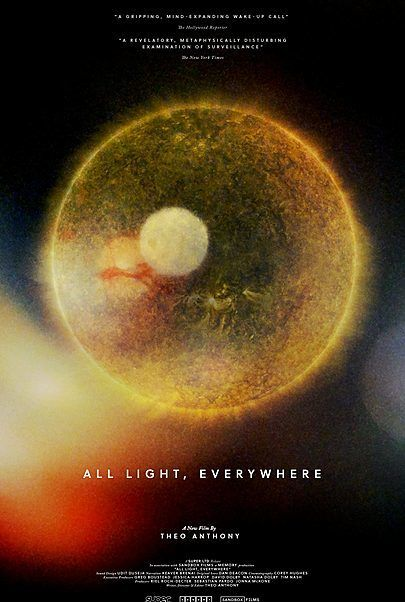 """Movie poster for """"ALL LIGHT, EVERYWHERE"""""""