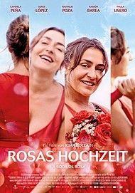 """Movie poster for """"LA BODA DE ROSA"""""""