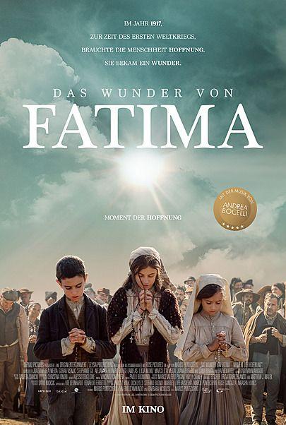 """Movie poster for """"DAS WUNDER VON FATIMA"""""""