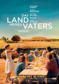 """Movie poster for """"AU NOM DE LA TERRE"""""""