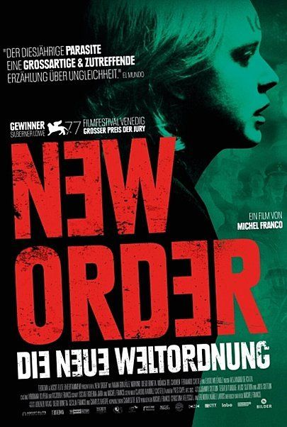 """Movie poster for """"NEW ORDER"""""""