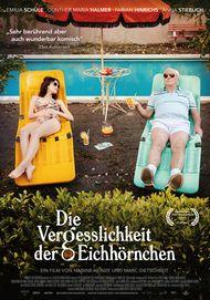 """Filmplakat für """"DIE VERGESSLICHKEIT DER EICHHÖRNCHEN"""""""