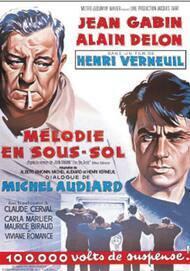 """Affiche du film """"MELODIE EN SOUS-SOL"""""""