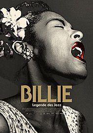 """Filmplakat für """"BILLIE - LEGENDE DES JAZZ - FILMSTART IN ÖSTERREICH"""""""
