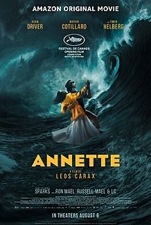 """Movie poster for """"ANNETTE"""""""