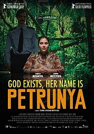 """Movie poster for """"GOD EXISTS, HER NAME IS PETRUNYA"""""""