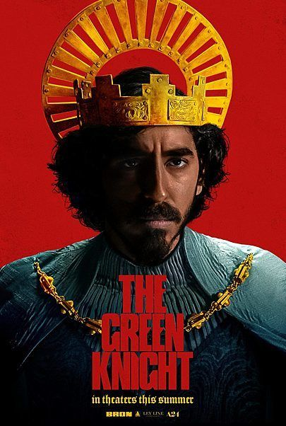 """Movie poster for """"THE GREEN KNIGHT"""""""