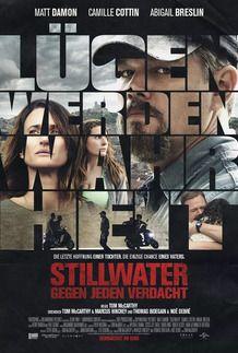 """Filmplakat für """"STILLWATER - GEGEN JEDEN VERDACHT"""""""