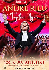 """Movie poster for """"ANDRÉ RIEU - TOGETHER AGAIN"""""""