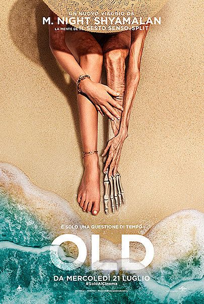"""Movie poster for """"Old"""""""