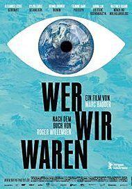 """Filmplakat für """"WER WIR WAREN"""""""
