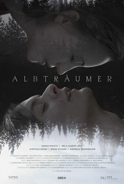 """Movie poster for """"DARK DREAMERS"""""""
