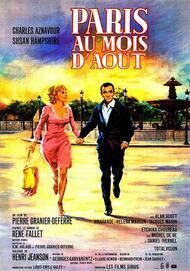 """Movie poster for """"PARIS AU MOIS D'AOUT"""""""