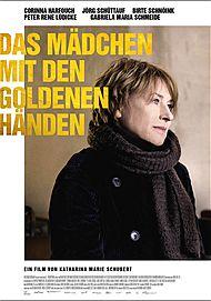 """Movie poster for """"DAS MÄDCHEN MIT DEN GOLDENEN HÄNDEN"""""""