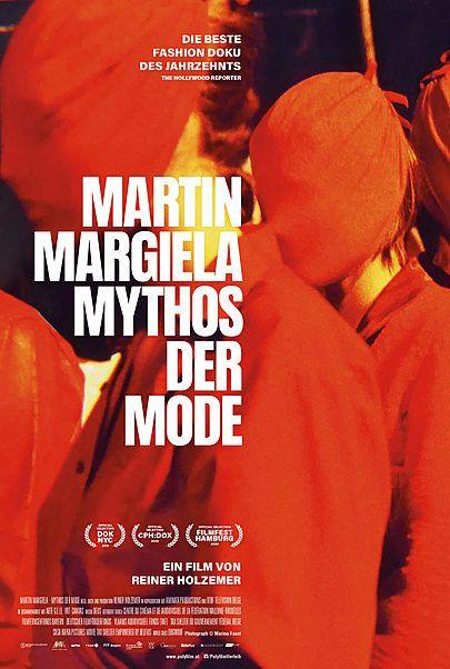 """Filmplakat für """"MARTIN MARGIELA - MYTHOS DER MODE - FILMSTART IN ÖSTERREICH"""""""
