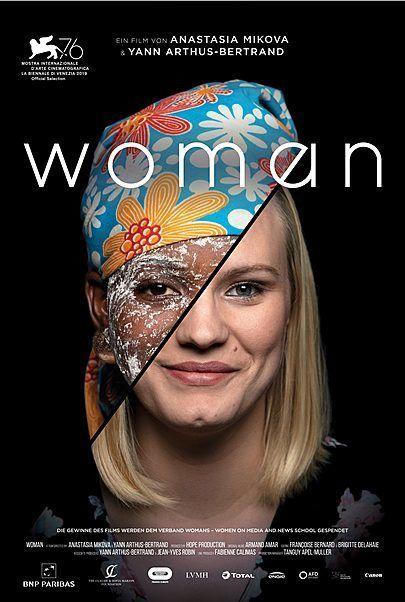 """Filmplakat für """"WOMAN - FILMSTART IN ÖSTERREICH"""""""